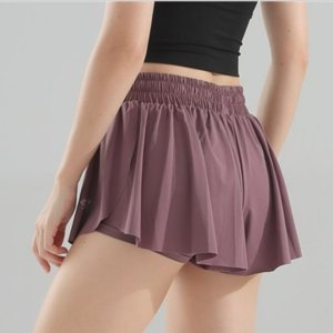 Donne Skort Quick Dry Sport Badminton Pantskirt Wear gonna a pieghe tasca dei pantaloni Gonna da tennis Cheerleaders Abbigliamento Y028