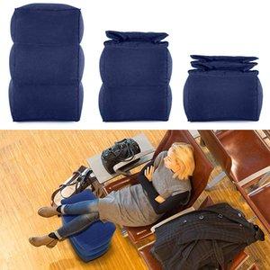 السفر نفخ القدم وسادة وسادة قابل للتعديل الاطفال الطيران النوم يستريح وسادة على الطائرة سيارة باص Footreast للأطفال الساق الوسادة SH190925