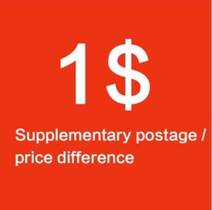 1USD supplementare differenza affrancatura / prezzo supplementare di affrancatura Tasse altra differenza