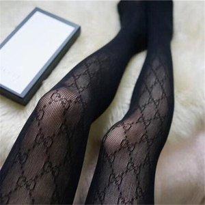 2020 Donna Popolare Calze di lusso Net See-through di dialogo Calze scaldino del piedino Calze sexy scava fuori collant per trasporto di goccia con il regalo