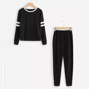 tracksuit women sportwear womens sports suit Women Long Sleeve 2Pcs Sport Wear Running Exercise & Fitness Wear Athletic & Outdoor Apparel Tr