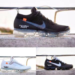 Nike Vapormax off white air max تشغيل الأداة المساعدة لرجال الاحذية 2019 للرجال عارضة وسائد هوائية مهزوم 360 الاحذية في الهواء الطلق الساخن التنزه الركض WT5188