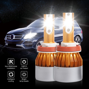 2 Pcs Car LED Headlight Bulbs 6500K Lamp LED Car Lights Headlights 6500K 8000LM 36W H1 H3 H4 H7 9005 9006 Bulb