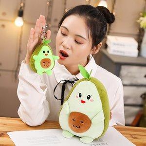 Dropshipping neue Ankunft plushie Avocado Kuscheltier Plüsch Avocado keychian peluche Anhänger Puppe für Kinder