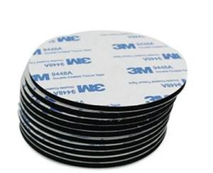 Univerola Support de plaque en métal avec adhésif pour fixation magnétique remplacement support voiture plaque métal Kit Aimant téléphone portable stand