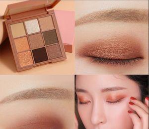3CE eunhye house 9 color eye shadow plate pearl sparkle matte nude makeup earth pumpkin color