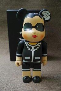 Venda quente 11inch 400% Bearbrick luxo Lady CH ser @ rbrick Moda brinquedo Medicom Brinquedos com caixa de varejo
