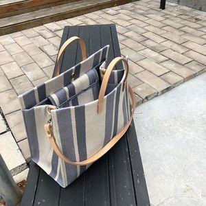 Designer Bag Summer Canvas Bag 2020 Designer Luxury Handbags Purses Shoulder Large Bags Tote Handbags