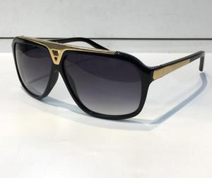 la mode Hot Vendre des lunettes de soleil de preuves de luxe rétro design vintage hommes cadre or brillant laser logo des femmes de qualité supérieure avec le paquet