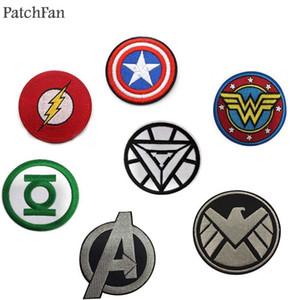 A0374 Patchfan Patch più recente Marvel's The Avengers Ferro ricamato su toppe per abbigliamento Abbigliamento fai-da-te Patchwork applique