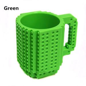 350ml Creative lait tasse tasses de café Creative Cups Build-Brick tasse potable Porte-eau pour la conception des blocs LEGO Building