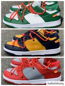 FUTURA x SB Dunk Low 1 Skateboarding Shoes Designer Fashion Blue Orange Mens Women Sport Casual Outdoor Sneakers