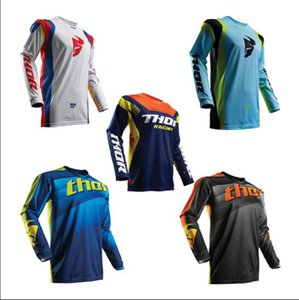 2020 explosive THOR speed drop suit summer bicycle cycling suit long-sleeved racing suit off-road shirt mountain bike clothing manufacturer
