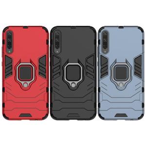 Pour Huawei Honor Play 3 Armure hybride robuste boîtier en boucle Combo Support d'impact Holster couverture pour Huawei Honor Play 3