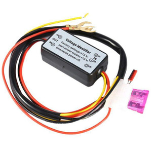 DRL контроллер Авто светодиодные фары дневного света контроллер реле Harness Dimmer On / Off 12-18V Противотуманные фары