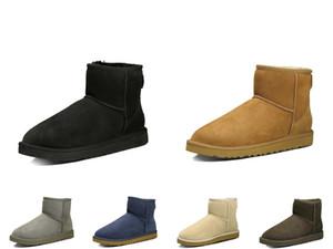 Мода Роскошная Женские Мужские зимние ботинки снега лодыжки Средние Длинные теплые ботинки зимы вскользь платья партии обувь кроссовки
