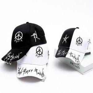 HobbyLane Men Women Baseball Cap with Ring Hip Hop Fashion Pattern Hat