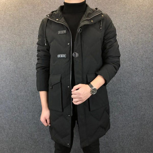 Luxury winter jacket men's classic casual down jacket men's outdoor warm high quality jacket Z227