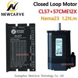 Leadshine NEMA23 1.2NM lazo cerrado Kit servo conductor híbrido CL57and 57CME12X motor de pasos de la unidad de 57 mm para el CNC Router NERCARVE