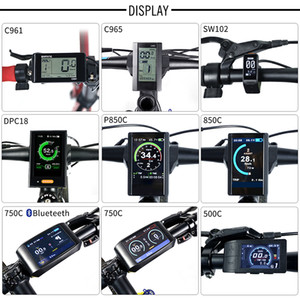 Electric Bike Speedometer LCD Display DPC18 850C 500C SW102 C965 C961 750C Bluetooth for BAFANG BBS Mid Drive Motor Bicycle ebike Computer