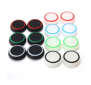 Silicone Silicone Sticks Polegar Grips Capa para Playstation PS4 Pro Magro para ps3 controlador Thumbstick Caps para o interruptor