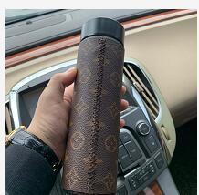 LCD Louis Vuitton Smart Becher Edelstahl Temperaturanzeige Vakuum Wasserflasche Wasserkocher Thermo Tasse