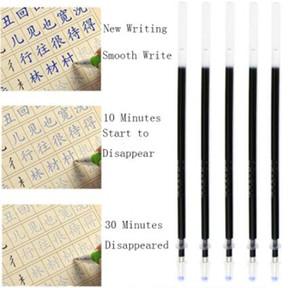 Automatic desaparecer Gelpen Refill 0,5 milímetros Função tinta azul especial Refill Magic Color desvanecimento prática da escrita caneta em vez Refill J200235