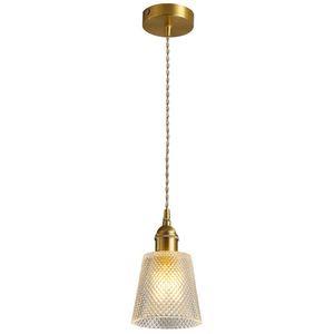 Pingente de vidro Luzes Bola Lâmpada de bronze de suspensão moderna Para loja de roupa nórdicos pintura do metal criativo casa de iluminação No105