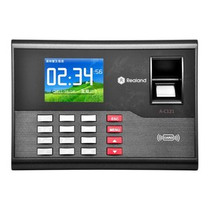 A-C121 2.8 inch Color TFT Screen Fingerprint & RFID Time Attendance, USB Communication Office Time Attendance Clock