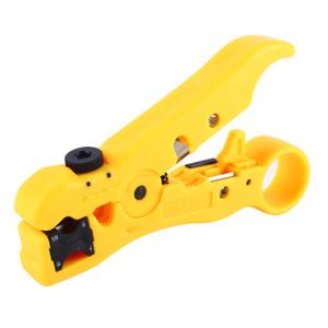 Outils de coupe de fil de câble coaxial coaxial multifonctionnel RG59 RG6 RG7 RG11 Stripper Stripper Ciseaux Outil À Main
