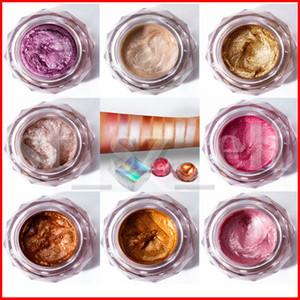 Pudaier 8 Color Jelly Gel Jelly Highlights Powder Jelly Face High Light Liquid Body Highlight Cream Mermaid Eye Shadow