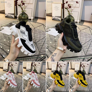 2019 ساخنة جديدة مصمم أحذية الرجال والنساء Cloudbust الرعد متماسكة مصمم المتضخم المرأة أحذية خفيفة الوزن وحيد أحذية 3D عارضة
