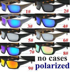 Polarize YENİ 2020 Moda Spor Yaz Balıkçılık Güneş Açık Sürüş UV400 Güneş 9 renk 10pcs Hızlı Gemi PC Fabrika Fiyatı