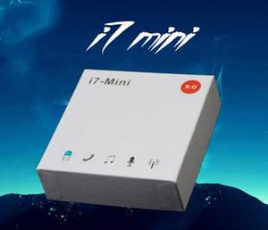 DHL 무료 배송 i7Mini는 i7s i9s I12 HOT를 들어 박스 충전과 무선 블루투스 이어폰 이어 버드 블루투스 5.0 헤드셋을 i7s