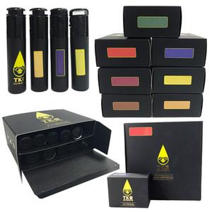 TKO molho Vape cartuchos embalagem 1ml vazio Ceramic Dab Pen vaporizador 510 Thick Oil Vape Carrinhos électronique cigarro vazio