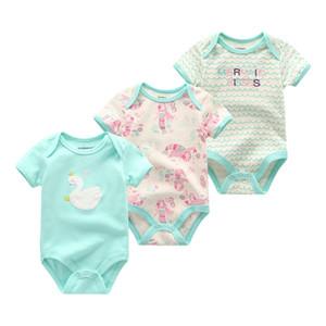 2018 Модная одежда для новорожденных с коротким рукавом с длинным рукавом 0-12 м
