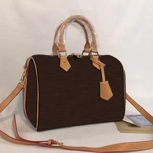 Borse da stilista veloci Borsa da donna moda Borsa in pelle PU bostson 30cm L borsa da donna fiore borsa da donna
