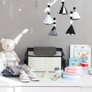 1PC Baby Car Hanging Basket Stroller Nappy Bag Multi-function Diaper Bag Mummy Storage For Baby Stuff Collection Mummy
