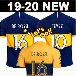 2019 2020 Boca Juniors Fußball Trikot Heim Auswärts 19 20 Boca Juniors GAGO OSVALDO CARLITOS PEREZ DE ROSSI TEVEZ PAVON JRS Fußballtrikot