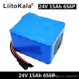 6S6P 24V 15Ah 25.2V lithium battery pack batteries for electric motor bicycle ebike scooter wheelchair cropper with BM