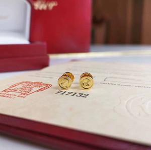 qualité luxe S925 argent ligne un pion style simple boucle d'oreille pour petite amie bijoux cadeau en trois couleurs PS8640 livraison gratuite