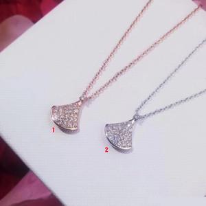 Fahmi 2019 top Diva serie high-end collana calda su misura 18k a forma di ventaglio Gold Diamond Gonna Noble Atmosfera Uomini e Donne Collana