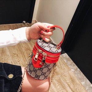 9 estilos de Crianças designer bolsas saco balde Mini bolsa bolsa de ombro Adolescente crianças meninas Messenger Bags Princesa cadeia saco DHL TJY607