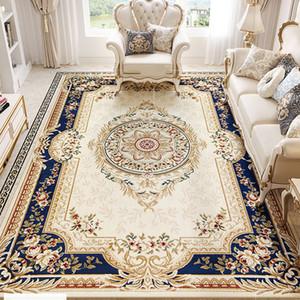 Europea morbido tappeto del salotto Camera da letto Grande e moderno Tappeti Area Vintage Palace American Style tappeto antiscivolo spessore Tappeto Parlor