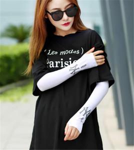 Fashion-Trend Fingerless Gloves Sonnencreme Herren- und Damenhandschuhe Ice Silk Anti-UV Outdoor Sports Driving Designer-Handschuhe Versandkostenfrei