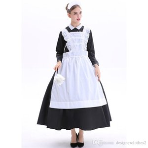 Halloween Costume femmes Housemaid Thème Costume bavarois Nation de théâtre Sexy Pucelle Night Club Cosplay Robes