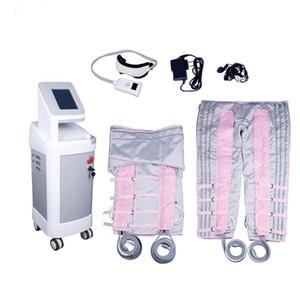 O mais novo!!! 24 bolsas de ar de pressão de ar massagem Pressoterapia Loss Massagem Corporal Peso Pressoterapia linfática máquina de drenagem