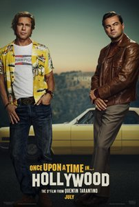 2019 Once Upon a Time in Hollywood poster silk Art new movie 01