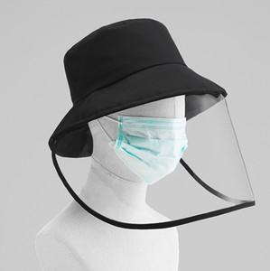 Balıkçı Şapka Koruyucu Kapak Anti-bakteriyel Aeolian Kum Toz İzolasyon Şapka Göz Koruma Salgın Önleme Koruyucu Maske