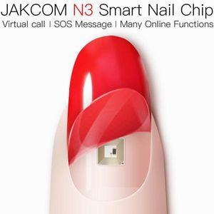 JAKCOM N3 inteligente Chip novo produto patenteado de Outros Eletrônicos como CE RoHS relógio inteligente 3d pintar sapatos tubo